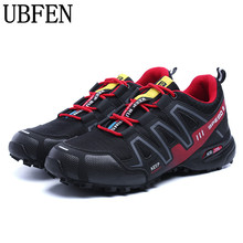 UBFEN 2017 Waterproof design Durable Climbing Trekking Shoes Male Shockproof Absorption Male Casual Shoes For Men PLus Size