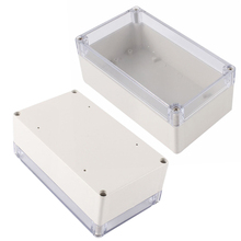 1pc Mayitr Waterproof Enclosure Case Clear Cover Plastic DIY Electronic Project Instrument Box 158mmx90mmx60mm(China)