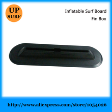 Inflatable Surfing Board Fin Box Black Longboard  Fin Plug