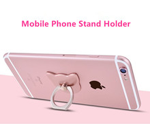 Newest Fashion 360 Degree Finger Ring Mobile Phone Stand Holder For iPhone5 5S 6 6S 7 plus samsung All smart phones