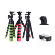 "Mini Flexible Phone Mobile Tripod 2-in-1 Gorillapod 11"" for Phone GoPro Canon Nikon Sony Camera Table Desk Tripod Stand"