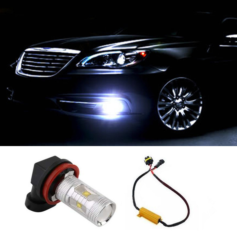 1pcs No Error Led Chips Car Lights Fog Driving Light for Mercedes-Bens W211 W212 W164 W221<br><br>Aliexpress
