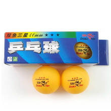 30 pieces of Double Fish 3-star (3star, 3 star) 40mm table tennis / pingpong balls(China)