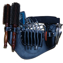 Styling Accessories Salon Barber Scissors Bag Scissor Clips Shears Shear Bags Tool Hairdressing Holster Pouch Holder Case Belt(China)