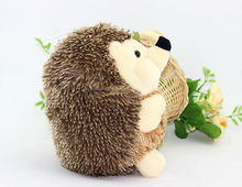 Cute Soft 18cm Hedgehog Animal Doll Stuffed Plush Toy Gift Children Kid Home(China)
