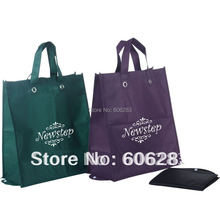 Fold shopping bag with non woven material(China)