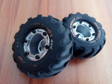 HBX part 2098B Wheels Complete w/ Wheel Frames Installed for 1/24 4WD Mini Car Spare Parts free shipping