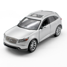 1:24 Infiniti FX45 Diecast Model Diecast Model Metal SUV Vehicle Play Collectible Models Off Road Vehicle toys For Gift(China)