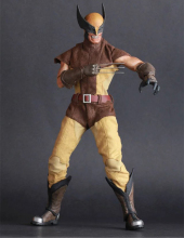 Wolverine Variant Action Figure X-Men Real Clothes Ver. Variable Wolverine Doll PVC figure Toys Brinquedos Anime 30CM(China)