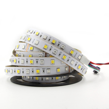 5050 SMD led Strip Light Dual Color RGBW Full Colour AND Dual White Temperature adjustable string RGB CCT 24V led tape lamp 5m(China)