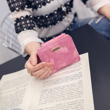 2017 Brand Designer Women Wallet Bags Best Leather Clutch Purse Lady's Short Handbag Purse Dollar Price(China)