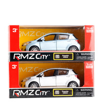 UNI 1/36 Scale JAPAN TOYOTA YARiS Diecast Metal Pull Back Car Model Toy New In Box For Gift/Kids/Collection(China)