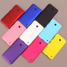 Colorful Cover Phone Bag For Nokia,Frosted Colorful Luxury Rubber Matte Hard Back Case For Nokia Lumia 630 635 Case Wholesale