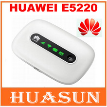 Original Unlocked Unlocked Huawei E5220 Vodafone R206 21.6Mbps 3G HSPA+ UMTS Wireless Router Pocket WiFi Mobile Hotspot
