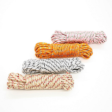 10m Long Adjustable Nylon Clothesline Rope Line Outdoor Drying Clothes Dress Washing Hanger Climbing Camping Rope Cord String