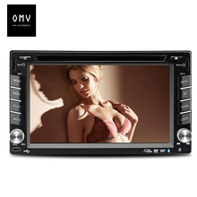 6.1 inch Car DVD video Player monitor support Remote Control Camera 2 din GPS navigation/Radio audio/MP3/USB/SD/TF/Bluetooth