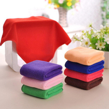 High Quailty 5pcs Lot Mixed Color Microfiber Car Cleaning Towel Washing Polish SetKitchen TowelCleaning Micro Fiber Cloth GF177
