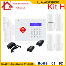 RFID Wireless GSM Home Security Alarm System(China)