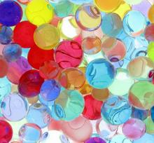 10000PCS/ Bag Colorful Soil Water Beads Pearl Shaped Crystal Mud Grow Magic Jelly Balls Bio Gel Ball Home Decor Aqua Soil