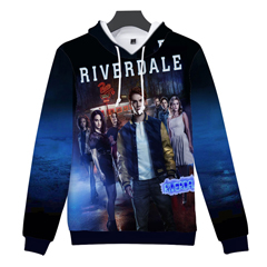 LUCKYFRIDAYF-2018-BTS-Riverdale-3D-oversized-hoodie-sweatshirt-Vrouwen-mannen-zuid-side-serpents-Hooides-Sweatshirts-jasje