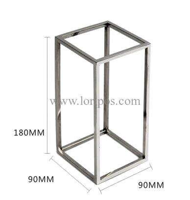 Fashion high grade multifunction mirror stainless steel Shoe display stand silk scarf Tie Shoe display stand Shoe Cabinets<br><br>Aliexpress