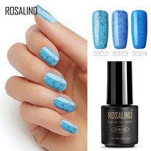 Buy ROSALIND Gel 1S Black Bottle 7ML Candy Bling D01-24 Gel Nail Polish Nail Art UV&LED Soak-Off Gel Varnish Manicure Glue for $1.11 in AliExpress store