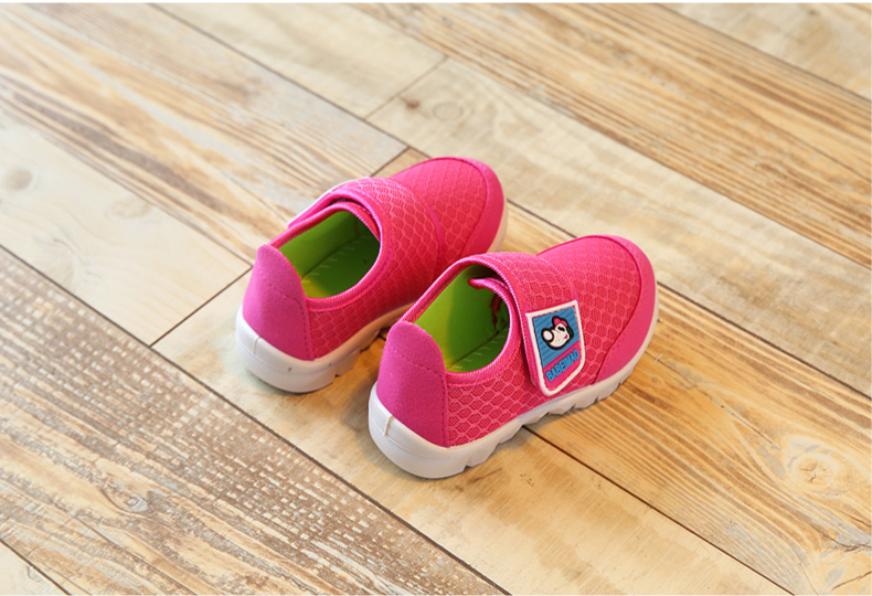 17 Autumn Kids Shoes Boys Girls Sports Shoes Breathable Mesh Children Casual Shoes Sneakers Soft Sole Toddler Baby Shoes 15