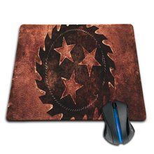 High Quality Customized Mouse Pad Rock Band Whitechapel Icon Wheel Gear Jeans Computer Notebook Durable Non-slip Mice Mat Pad(China)