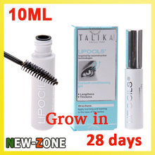 Hot Sale Talika Lipocils Lash Gel Eyelashes Growth 10 ml Grow In 28 Days! Eye Mascara Factory Price  Free Shipping