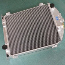 Aluminum Alloy Radiator For Ford Model A w/Chevy 350 V8 engine A/T 1928-1929 28 2x1""