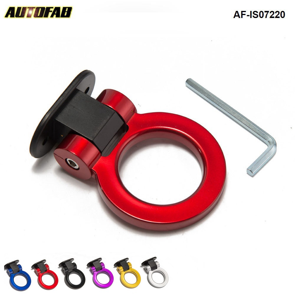 Universal ABS Dummy Towing Hook Stylish Car Accessories Design Hooks Car Tuning AF-IS07220