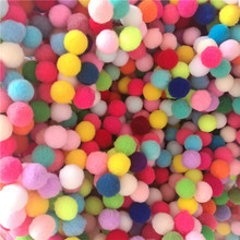 188Ps 15mm Mixed Color Pompoms Fur Ball Plush Ball Soft Pom Poms Balls for DIY Home Garden Wedding Decoration Sewing Accessories