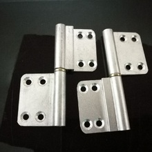 Bathroom door hinge 94X41MM detachment aluminum alloy hinge  X 2