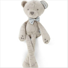 42cm Baby plush bear sleeping comfort doll plush toys Smooth Obedient bear Sleep Calm Doll baby sleeping doll