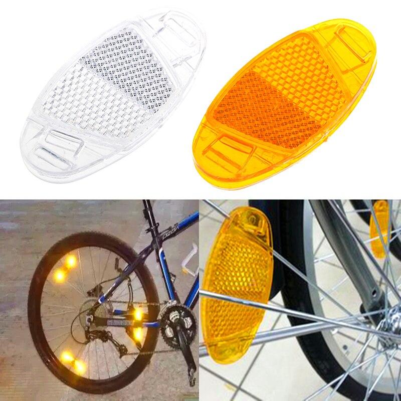 1 Pair bicycle spoke reflector warning light bicycle wheel rim reflective*~*