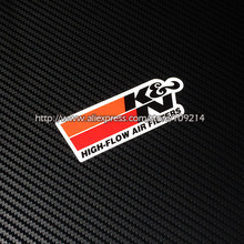 Hot sale K&N Air filter helmet motorcycle Sticker Decals Waterproof 20