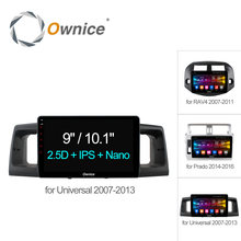 Ownice C500+ Android 6.0 Octa 8 Core For Toyota Universal RAV4 Prado 2014 2G+32G Car GPS Navi Player DVD Support 4G LTE SIM DAB+(China)