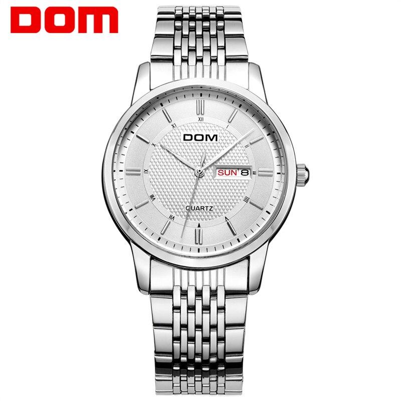 DOM Men mens watches top brand luxury waterproof quartz stainless steel watch Business reloj hombre M.11<br><br>Aliexpress