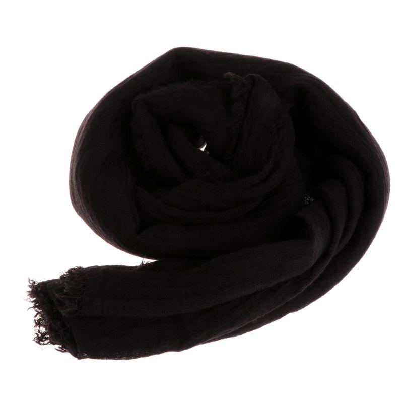 Women Crinkle Cloud Hijab Scarf Shawl Muslim Long Shawl Stole Wrap 12