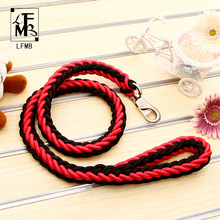 [LFMB]2017 Pet Dog Leashes For Large Dog Show Lead Dogs Leash Pet Dog Traction Rope Slip Lead High Quality Size S-XL
