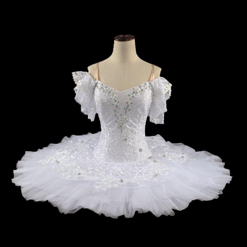 White Swan Ballet Tutu For Women BT9001 Girls Edelweiss Professional Ballet tutu White Sleeping Beauty Child Classical Tutus