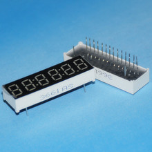 2pcs LED Timer Display 6 Digits Digital Clock Display RED Cathode 7 Segment LED Display 0.36inch Timer Numbers LED Signs Display(China)