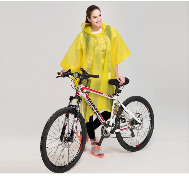 Motorcycle bicycle bike adult single person Conjoined mountain raincoat man women Electrombile poncho Rainwear Large Size YY40