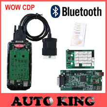 Newest v5.008R2 keygen WoW cdp With Bluetooth OBD ODB2 Diagnostic Tools VD-TCS cdp pro plus Scan Tool For CAR and TURCK SCANner