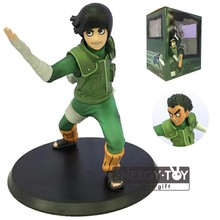 "Anime Naruto The Fire Nation Rock Lee ninja 6"" pvc action figure model toy doll Collection"