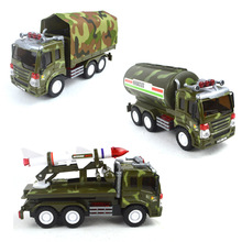 Inertia Military Transport Truck Tank Rocket Sports Personnel Carriers Tank Truck Toys For Boys(China)