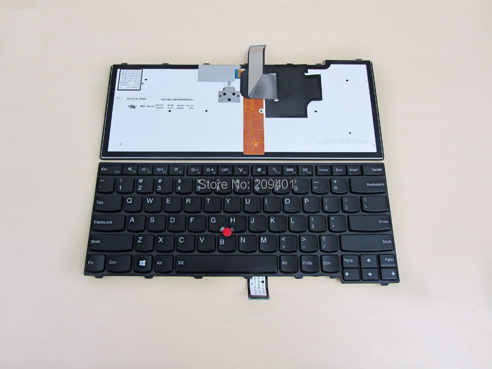 NEW Free shipping For Lenovo Thinkpad T431S T440 T440P T440S Laptop keyboard US keyboard Version Black With Backlit<br><br>Aliexpress