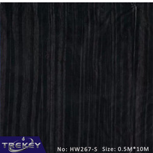 0.5M*10M  Black Wood Transfer Printing Film HW267-S, 0.5M*10M Hydrographic film, Hydro Dipping Film Film For Aqua Print