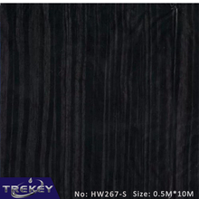 0.5M*10M  Black Wood Transfer Printing Film HW267-S,Hydrographic film, Hydro Dipping Film Film For Aqua Print