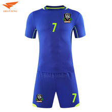 High quality Soccer Jerseys Adult 2017 Survetement Custom Football Uniforms Jerseys College Team Soccer Uniform Sets New(China)